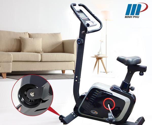 bánh xe di chuyển Xe đạp tập thể dục DLE-42816B