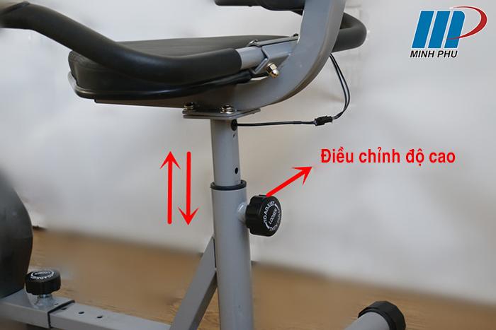 điều chỉnh độ cao yên ngồi Xe đạp phục hồi chức năng YD-656