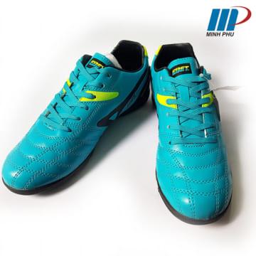 Giày bóng đá Ebet 16910 Xanh Cam