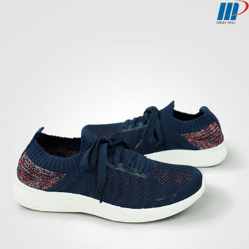 giày thể thao nữ eb 6777 xanh navy