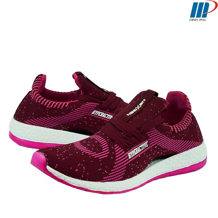 Giày thể thao nữ NEXGEN HYPERACTIVE 16089 đỏ đô