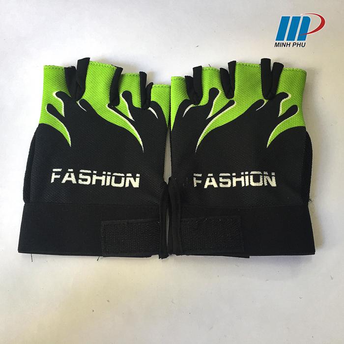 Găng tập tạ fashion xanh lá