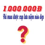 Cúp pha lê lưu niệm đẹp giá rẻ dưới 1 triệu đồng tại Hà Nội