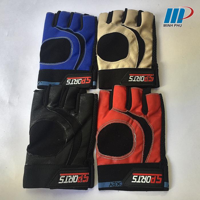 các màu của găng tay tâp tạ wb-t074