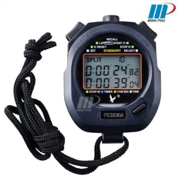 Đồng hồ bấm giây 30 LAP PC 3830A