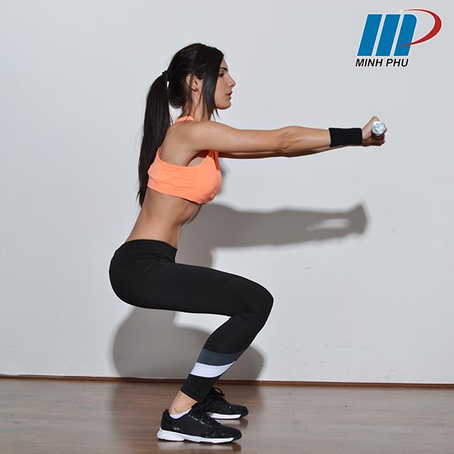 lưu ý khi tập squat tại nhà