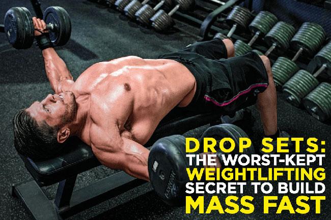 Drop set là phương pháp tập tăng cơ nhanh