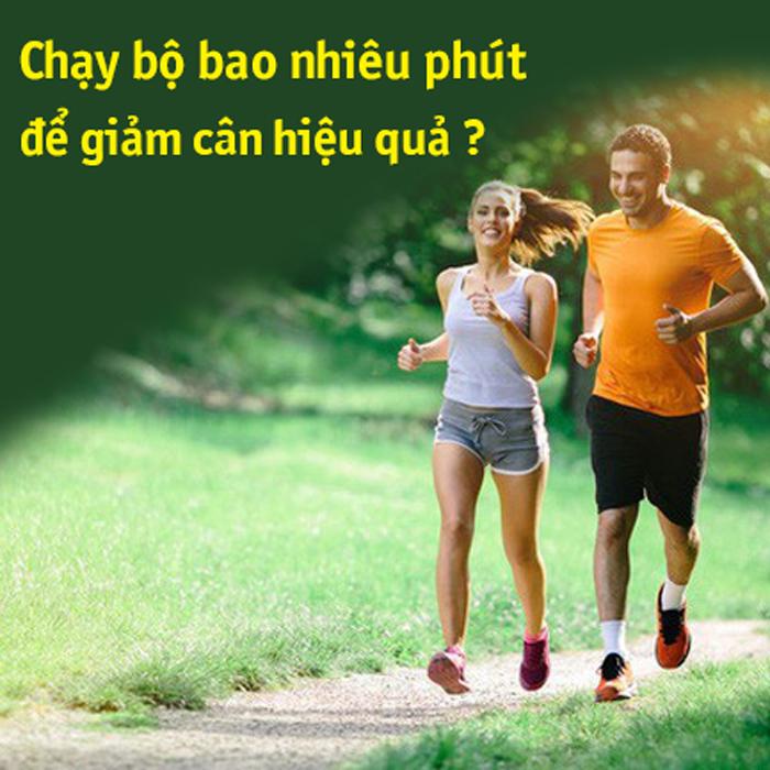 chạy bộ để giảm cân hiệu quả