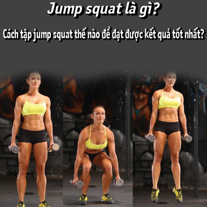 Cách tập jump squat thế nào để đạt được kết quả tốt nhất?
