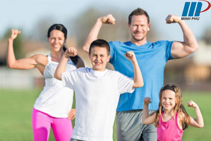 sức khỏe tốt để tập thể thao