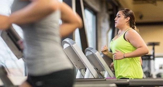 tập gym vơi người béo phì