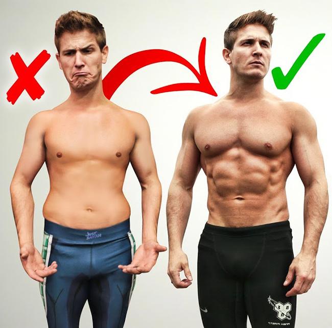 tập luyện cho người skinny fat