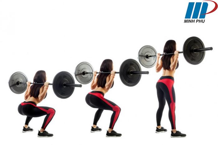 squat tăng vòng 3