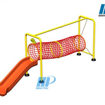 Ống chui lưới-Cầu trượt NIK7001