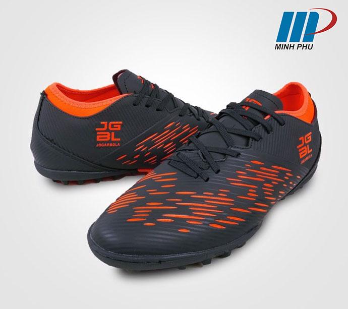 Giày bóng đá Jogarbola 190424B màu ghi-cam