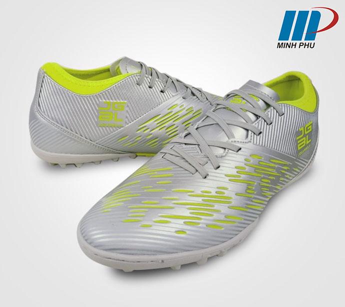 Giày bóng đá Jogarbola 190424B màu ghi nhạt
