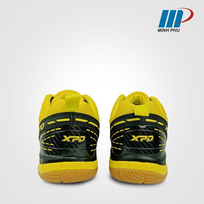 Giày cầu lông XPD 761 màu vàng-đen
