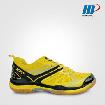 Giày cầu lông XPD 761 vàng-đen