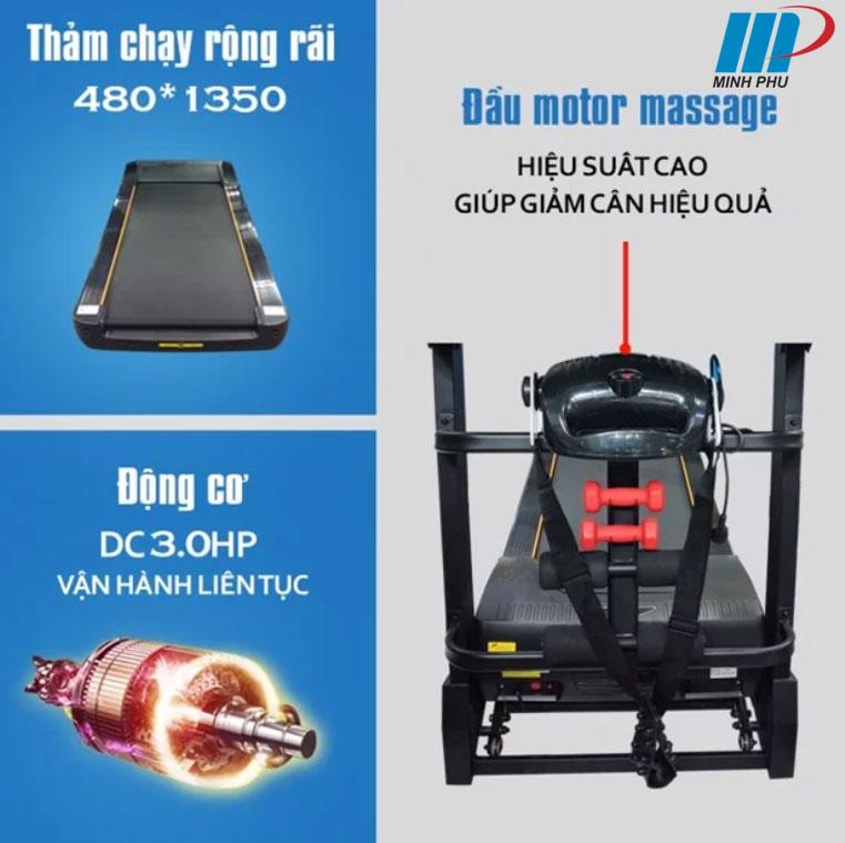 Máy chạy bộ điện DL-791ADS-1