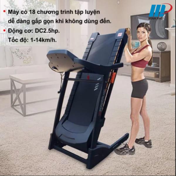 Máy chạy bộ điện DLY-ET1506