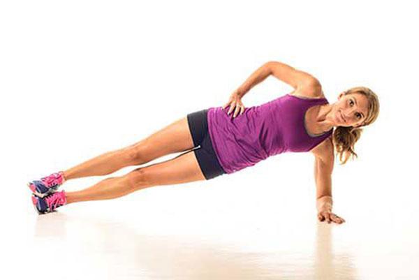 bài tập plank nghieng