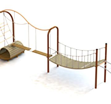Cụm cầu treo-thang dây