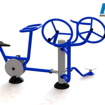 Cụm vận động vai đôi-xe đạp-xoay eo