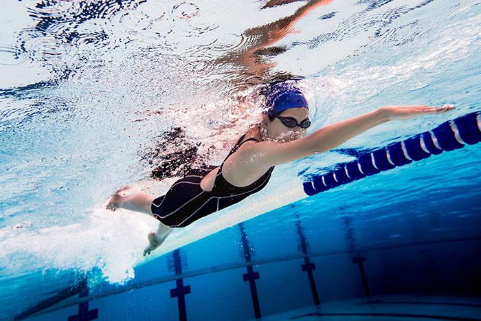bơi lội tập cardio