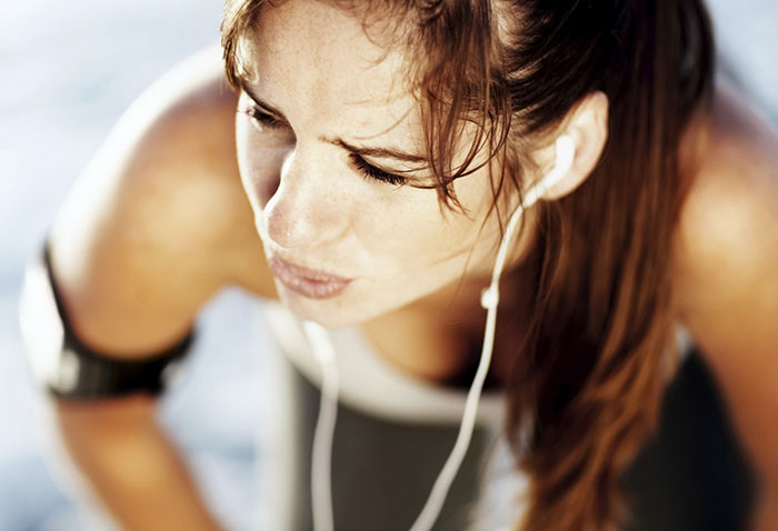 căng thẳng khi chạy bộ