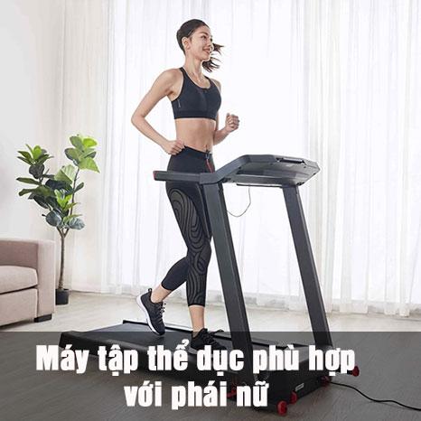 máy tập thể dục phù hợp với phái nữ