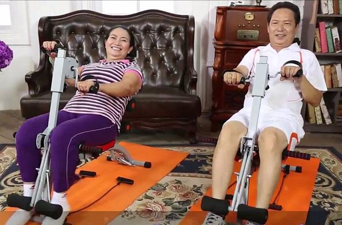 máy tập bụng tốt cho người cao huyết áp