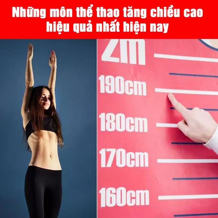 Những môn thể thao tăng chiều cao hiệu quả nhất hiện nay