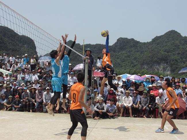 đánh bóng chuyền tăng chiều cao
