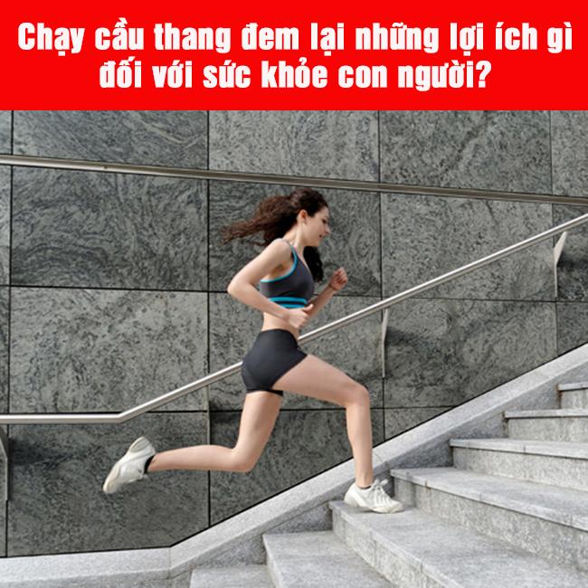 lợi ích của chạy bộ ở cầu thang bộ