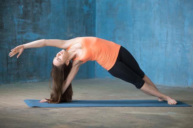 Side Plank Mermaid Raise
